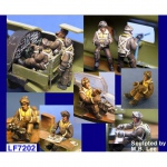 B-17 Flying Fortress Crew Set - Legend 1/72