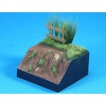 European Terrain figure base (48*48*24mm, 3) - Legend 1/35
