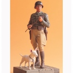 US General George S. Patton & Willie w. Base - Legend 1/16