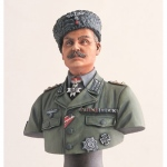 German Cossack Colonel w. Base Bust - Legend 200mm