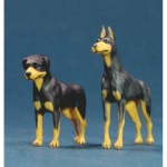 Dogs Set X2 - Legend 1/48