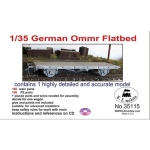 German Ommr Flatbed Wagon - LZ Models 1/35