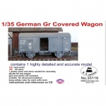 German Gr Covered Wagon - LZ Models 1/35