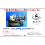 S-60 Stalinetz Conversion Set - LZ Models 1/35