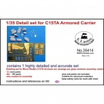 Detail Set for C15TA Armored Carrier - LZ Models 1/35