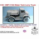 CMP C15A Water Tank Lorry, Cab 11+12 - LZ Models 1/35