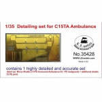 Detailing Set for C15TA Ambulance - 1/35