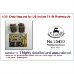 Detailing Set for US Indian 741B Motorcycle - LZ Models 1/35