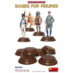 Bases for Figures 6 pc - MiniArt 1/16
