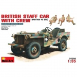 British Staff Car (Bantam 40 BRC) w. Crew - MiniArt 1/35