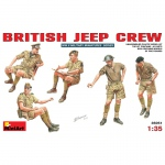 British Jeep Crew - MiniArt 1/35