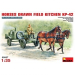 Horses Drawn Field Kitchen KP-42 - MiniArt 1/35