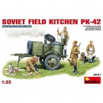 Soviet Field Kitchen PK-42 - MiniArt 1/35