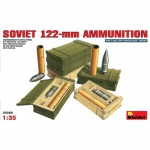 Soviet 122mm Ammunition - MiniArt 1/35