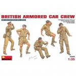 British Armored Car Crew - MiniArt 1/35