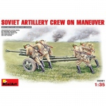 Soviet Artillery Crew on Maneuver - MiniArt 1/35