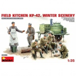 Field Kitchen KP-42 (Winter Scenery) - MiniArt 1/35
