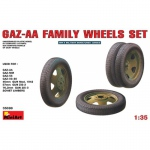 GAZ-AA Family Wheels Set - MiniArt 1/35