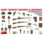 Soviet Infantry Weapons & Equipment - MiniArt 1/35