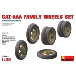 GAZ-AAA Family Wheels Set - MiniArt 1/35