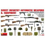 Soviet Infantry Automatic Weapons & Equipment - MiniArt 1/35