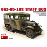 GAZ-05-193 Staff Bus - MiniArt 1/35