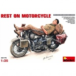 Rest on Motorcycle - MiniArt 1/35