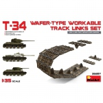 T-34 Wafer-Type Workable Track Links Set - MiniArt 1/35