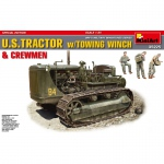 U.S. Tractor w. Towing Winch & Crewmen (Special Edition)...