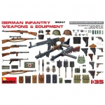 German Infantry Weapons & Equipment - MiniArt 1/35