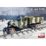 1,5 Ton Railroad Truck AA Type - MiniArt 1/35
