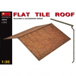 Flat Tile Roof - MiniArt 1/35