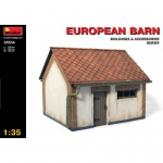 European Barn - MiniArt 1/35