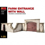 Farm Entrance with Wall - MiniArt 1/35