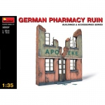 German Pharmacy Ruin - MiniArt 1/35