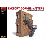 Factory Corner w. Steps - MiniArt 1/35