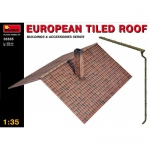European Tiled Roof - MiniArt 1/35