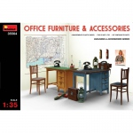 Office Furniture & Accessories - MiniArt 1/35