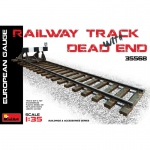 Railway Track w. Dead End (European Gauge) - MiniArt 1/35