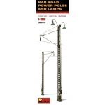 Railroad Power Poles & Lamps - MiniArt 1/35