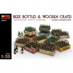 Beer Bottles & Wooden Crates - MiniArt 1/35