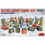 Allies Jerry Cans Set WW2 - MiniArt 1/35