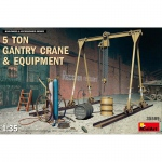 5 Ton Gantry Crane & Equipment - MiniArt 1/35