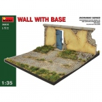 Wall with Base - MiniArt 1/35