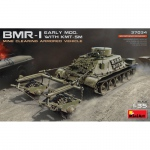 BMR-1 early Mod. with KMT-5M - MiniArt 1/35