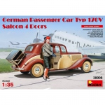 German Passenger Car Typ 170V Saloon 4 Doors - Mini Art 1/35