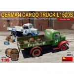 German Cargo Truck L1500S - MiniArt 1/35