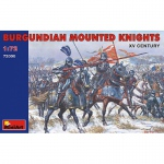 Burgundian Mounted Knights XV. Jh. - MiniArt 1/72