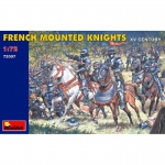 French Mounted Knights XV. Jh. - MiniArt 1/72