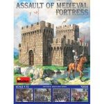 Assault of Medieval Fortress - MiniArt 1/72